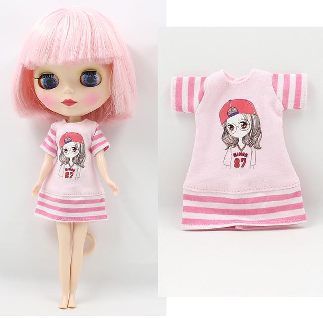 Neo Blythe Doll Summer Dress