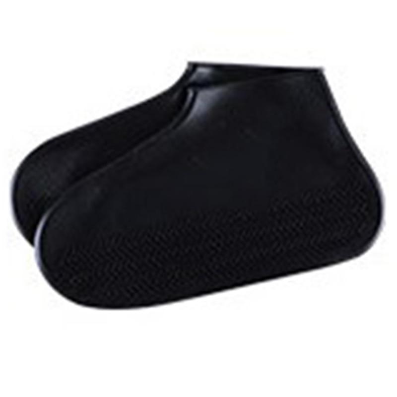 6PCS Silicone Overshoes Reusable Waterproof Rainproof Men Shoes Covers Rain Boots Non Slip Washable Unisex Wear Resistant Recy
