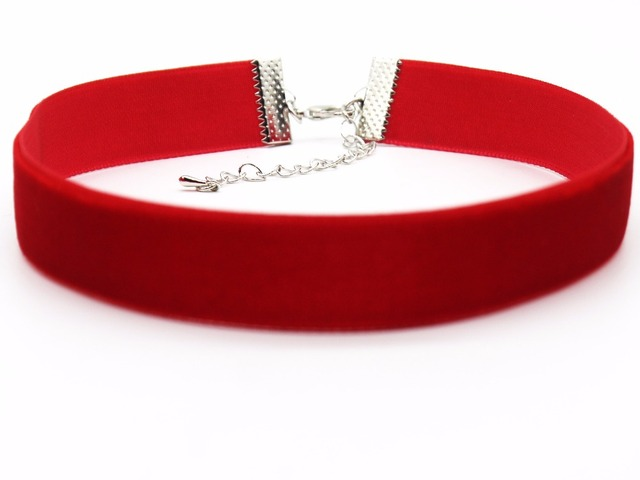 New Arrival 7 Color Goth Choker Necklace