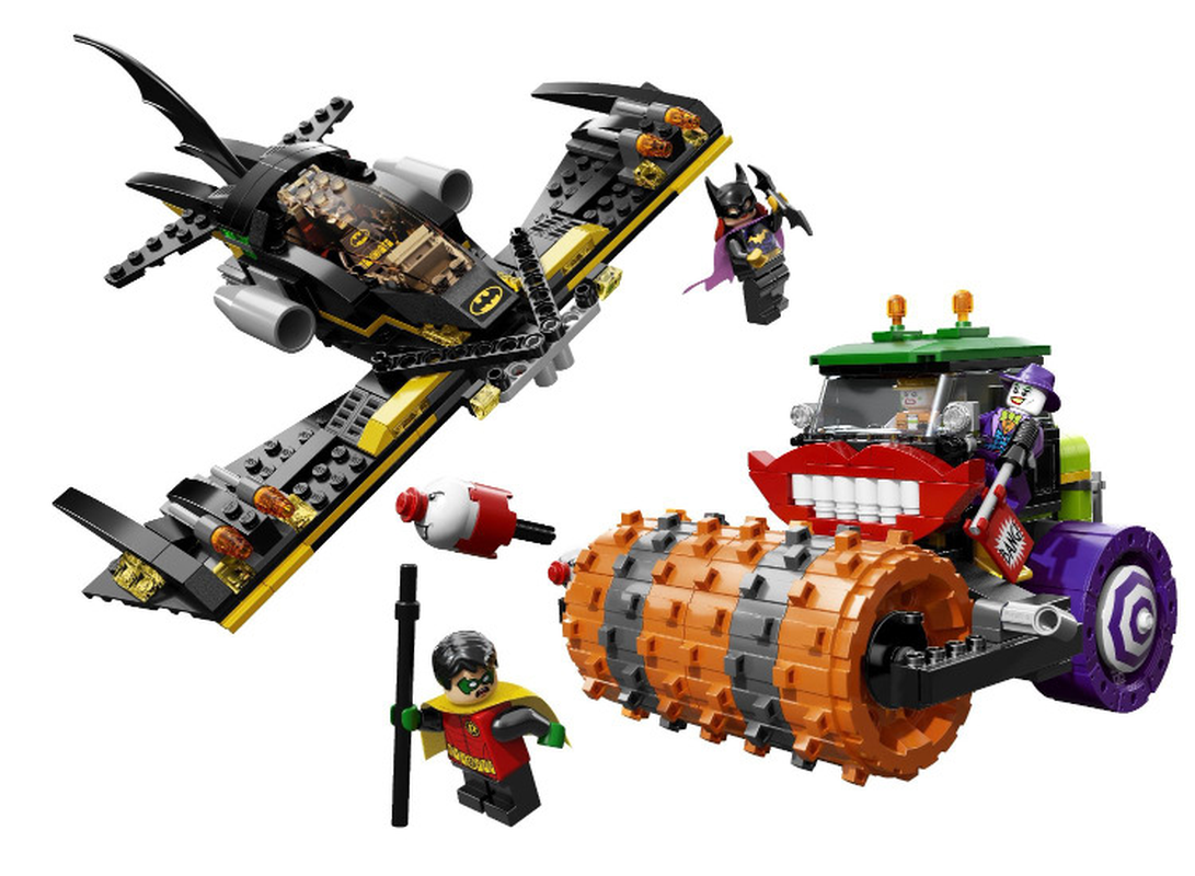 485pcs Super Heroes Batman Movie The Joker Steam Roller Batwing Robin 10228 Model Building Blocks Gifts Set Compatible legoings 1pc super heroes catwoman robin joker batman movie figures poison harley quinn building blocks compatible with legoingly batman