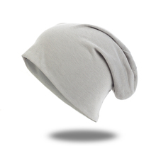 2019 moda Slouchy stałe bawełniane czapki dla damska czapka zimowa czapki na co dzień dla człowieka Turban okłady ciepłe czapki Bonnet czapka unisex tanie tanio CHARM WOOD Dla dorosłych CN (pochodzenie) Poliester DQ923C Skullies czapki Comfortable Fashion Casual Office Novelty