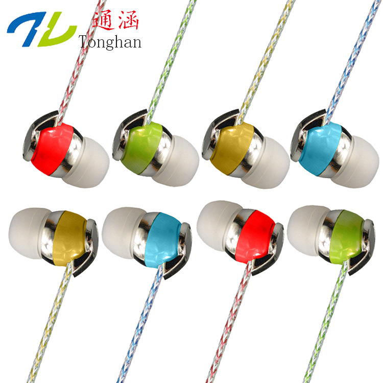 SA18 Fashion Earphones Headsets Stereo Earbuds Sports For mobile phone MP3 MP4 For phone