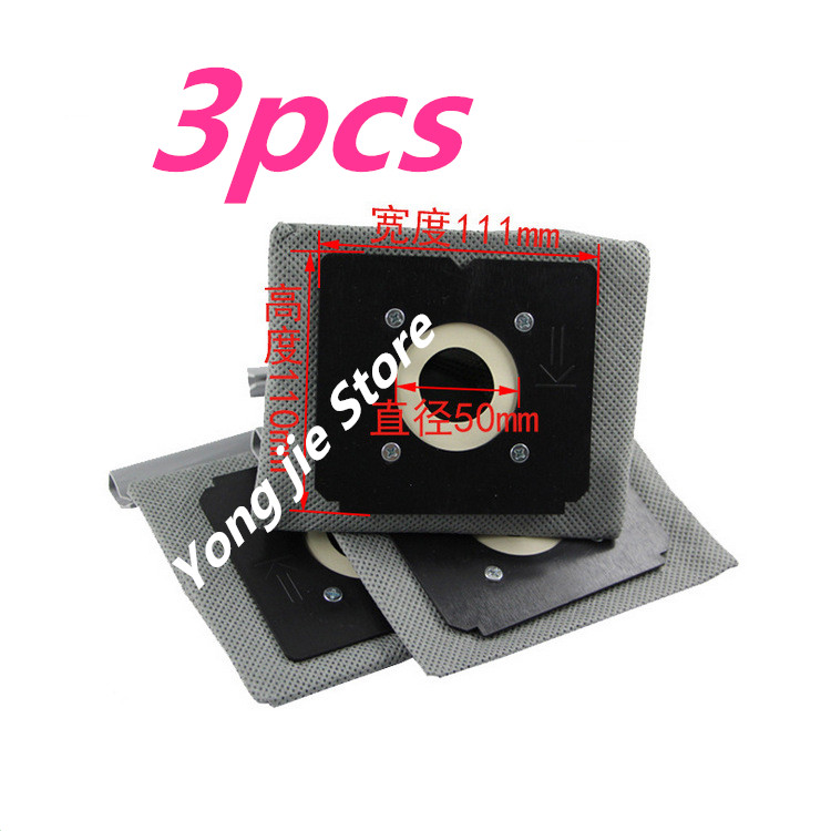 3pcsVacuum Cleaner Part Vacuum cleaner bag Hepa filter dust bags cleaner bags Replacement for Electrolu Z1550 Z1560 Z1570 Z2332 цена и фото