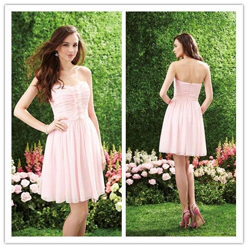 Rosafarbenes kleid fur hochzeit