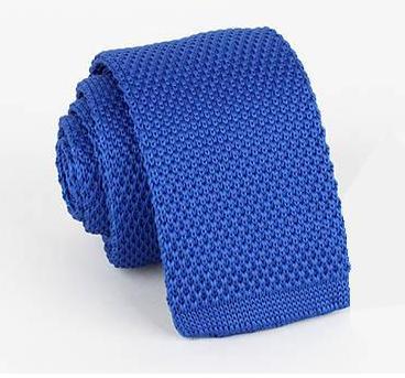 2018 solide strick blau dünne krawatten für männer wolle Häkeln ...