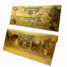 UBUY New Design United Arab Emirates 500 Dirham Gold Foil Banknotes with Envelope For Collection Gift academics knowledge sharing behaviour in united arab emirates
