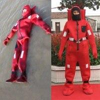 NEYGU высококачественный неопрен выживания красный костюм для взрослых защитный погружной костюм один размер подходит всем для плавания