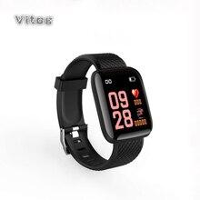 Смарт часы ip67 для мужчин и женщин, водонепроницаемые спортивные часы с gps, монитором кровяного давления, пульсометром и трекером для телефонов IOS и Android