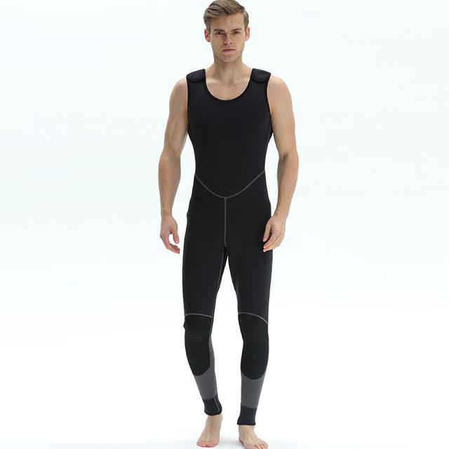 Split Type Wetsuit Men Full Body Diving Suits Surfers Divers Windsurfers Canoeists Scuba Diving Snorkeling 3mm Neoprene Wet Suit