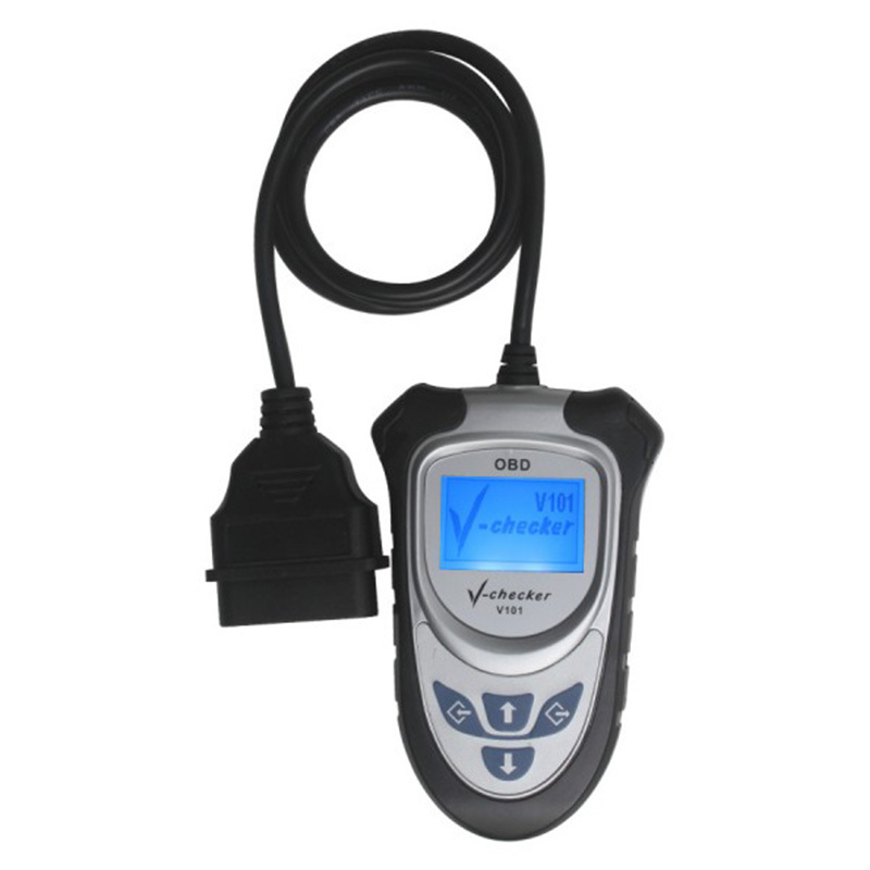 ФОТО Super Quality V-CHECKER V101 OBD2 Diagnostic Tools Code Reader Without CAN BUS SC77