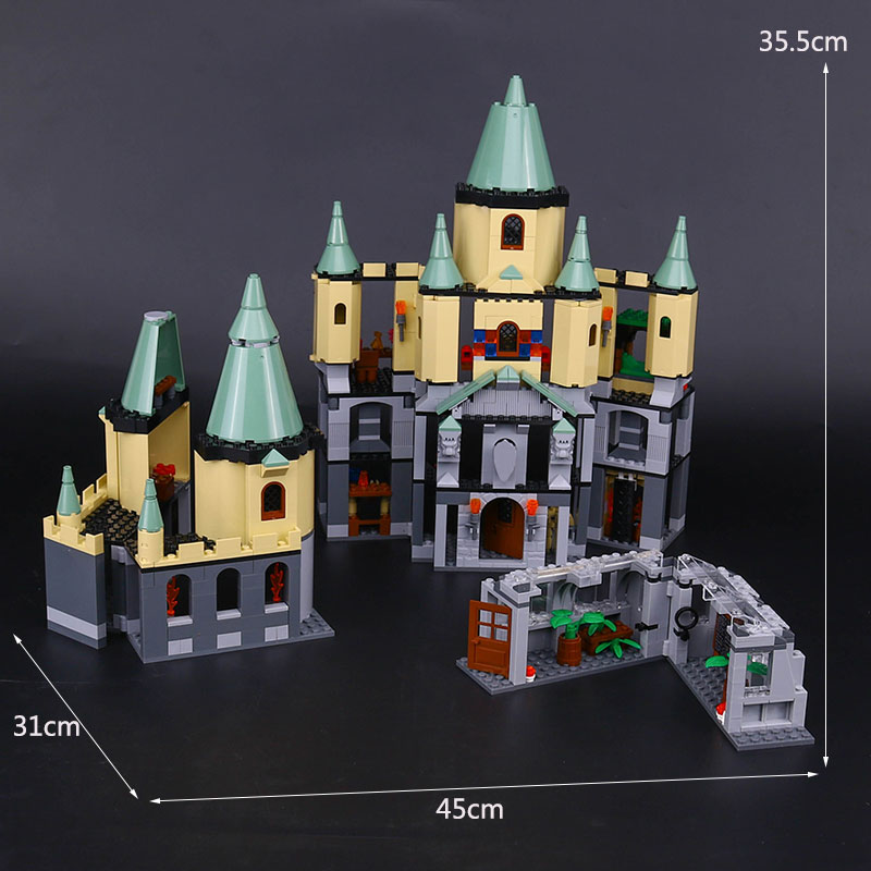 Lepin 16029 Genuine Movie Series The Magic hogwort castle set 5378 Educational Building Blocks Bricks legoinglys Toy Model Gifts in stock lepin 16029 1033pcs movie series the magic hogwort castle set children educational building blocks bricks toys model