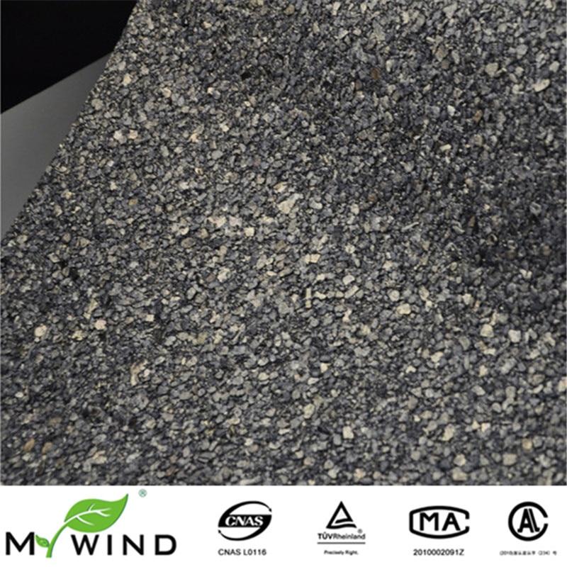 nuevo color vermiculita glitter navy mica hotel wallpaper de paredes de piedra negro para