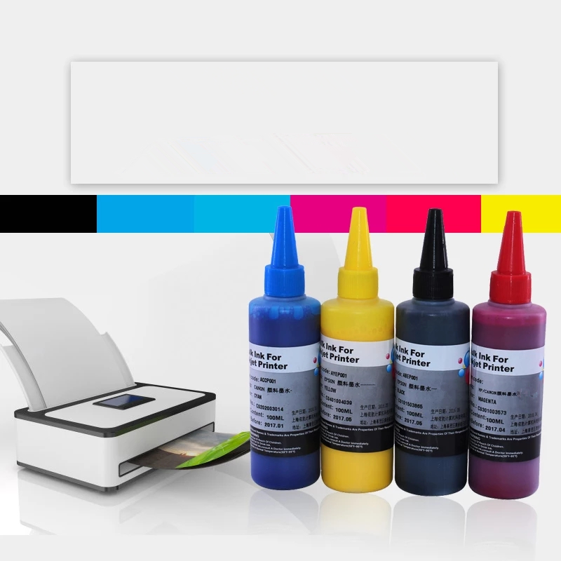 <font><b>400</b></font> ML sublimation ink Heat Transfer Ink compatible For <font><b>Epson</b></font> <font><b>XP</b></font>-430 <font><b>XP</b></font>-440 WF-4730 WF-7720 WF-7710 WF-7210 XP430 XP440 WF4730 image