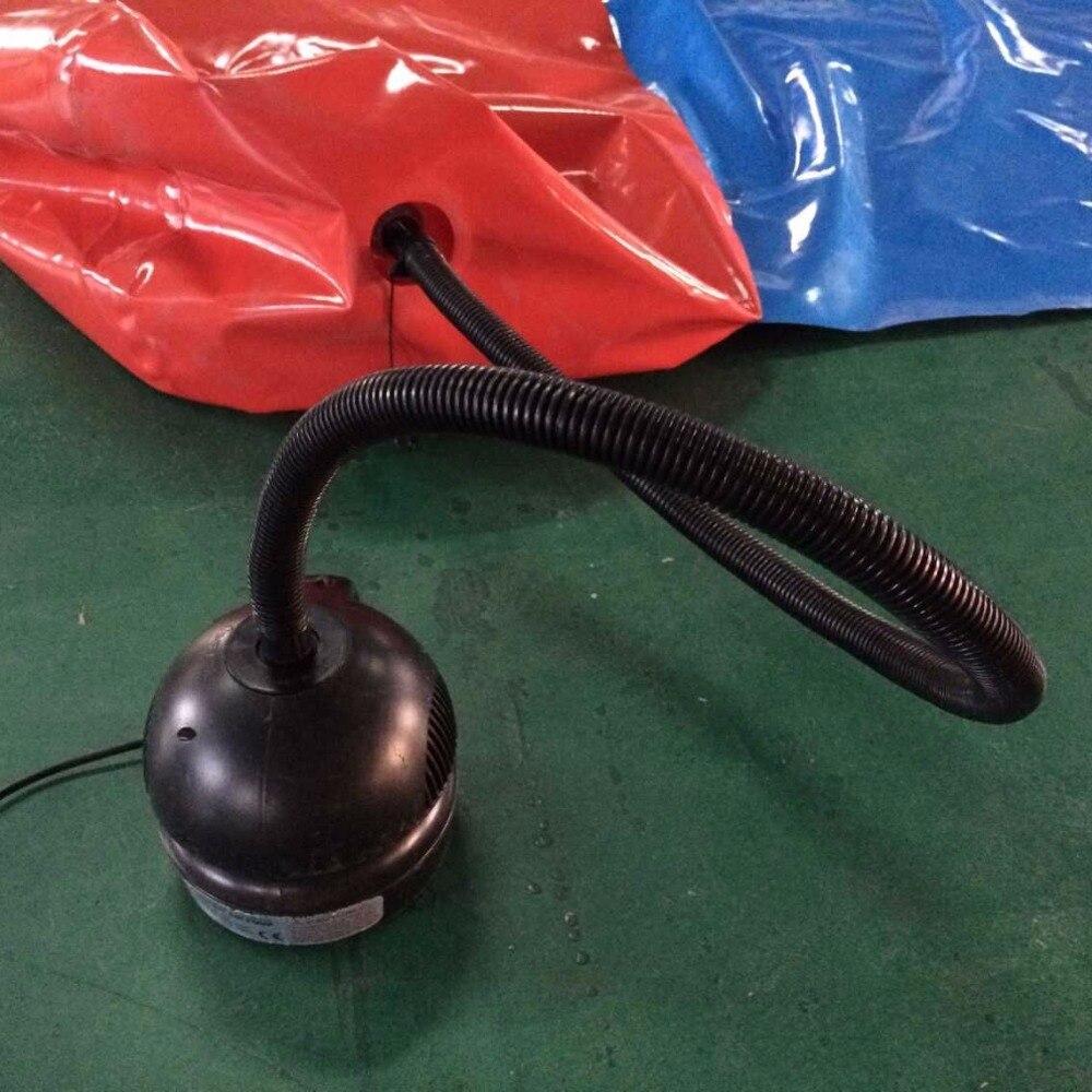 Livraison gratuite 600 W pompe à air électrique ventilateur pour bulle de football, boule pare-chocs, rouleau d'eau, boule de zorbing, football à bulles, zorb