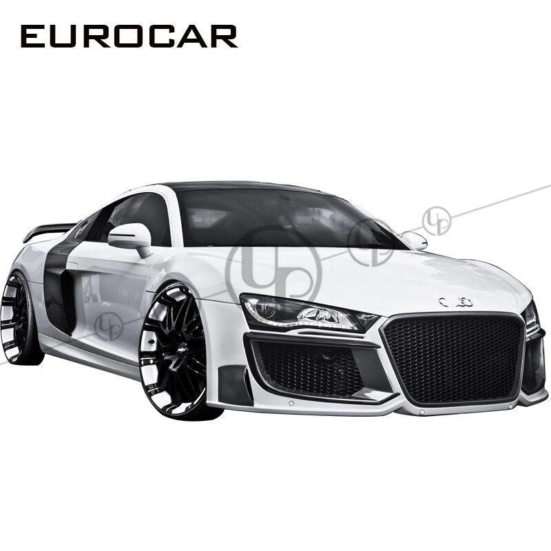 R8 Regula Body Kit For R8 Front Bumper Rear Bumper Side Skirts FRP Carbon Body Kit