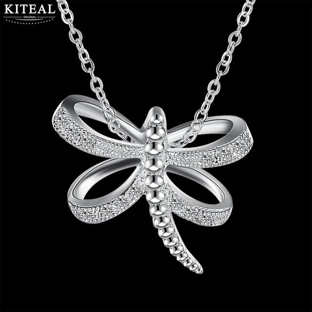 Fashion silver long necklace pendants wholesale good dragonfly maxi fashion silver long necklace pendants wholesale good dragonfly maxi choker vintage jewelry for women statement necklace mozeypictures Images