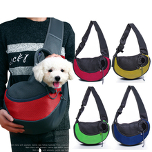 Pet Puppy Carrier Outdoor Dog Cat Travel Handbag Pouch Mesh Oxford Single Shoulder Bag Sling Comfort Tote Backpack