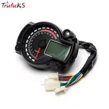 Triclicks Max 299 км/ч 15000 об/мин современный RX2N аналогичный ЖК-цифровой одометр для мотоцикла спидометр Регулируемый Спидометр одометры