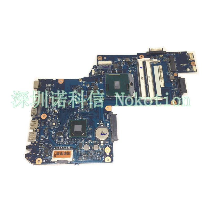 NOKOTION new for toshiba satellite C850 laptop motherboard 15'' HM70 HD4000 Graphics DDR3 Mainboard H000050950 free cpu шарф frank q