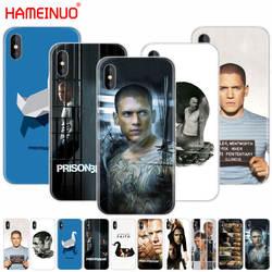 HAMEINUO из тюрьмы сотовый телефон Обложка чехол для iPhone X, 8, 7, 6, 4 4S 5 5S SE 5c 6s плюс