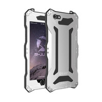 Waterproof Outdoor Case For 4 7inch Iphone6 Shockproof Snowproof Dirtproof Cover For5 5inch Ihone6plus Aluminum Tempered