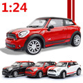 2016 hot  sale 1:24 alloy car model  metal model kid gift electric educational toys open door  pull back,free shipping