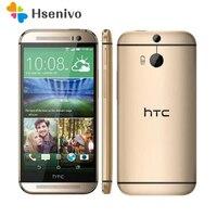 Original HTC One M8 Unlocked GSM/WCDMA/LTE Quad core RAM 2GB Cell Phone HTC M8 5.0 Inch 3 Cameras Mobile Phone EU/US Version