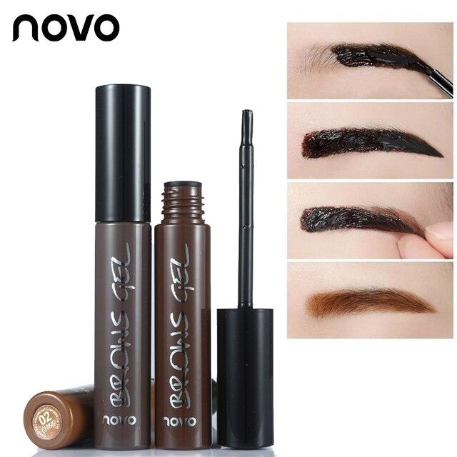 Novo Brand Eye Brow Makeup 3d Peel Off Eyebrow Gel Long Lasting