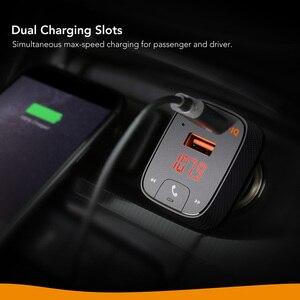 Image 5 - ANKER Roav Bóng Đèn LED Bulb Tích Điện Thông Minh Smartcharge F2 Phát FM Bộ Thu Bluetooth Xe Hơi Có Bluetooth 4.2 Hỗ Trợ Ứng Dụng Ổ Đĩa USB CHƠI MP3