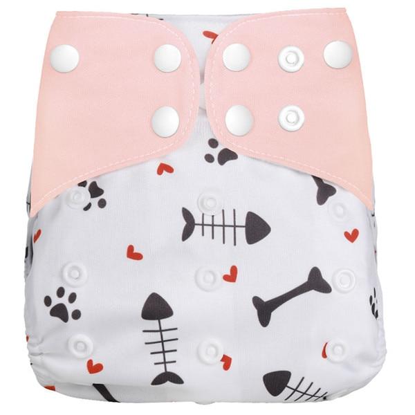 [Simfamily] Новые детские тканевые подгузники, регулируемые подгузники для мальчиков и девочек, Моющиеся Водонепроницаемые Многоразовые подгузники для новорожденных - Цвет: NO25
