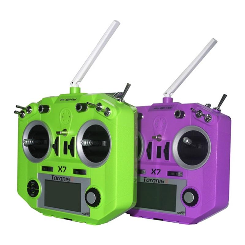 FrSky ACCST Taranis QX7 Non EU Version 2.4GHz 16CH Transmitter Black White Blue Orange Green Purple Mode 1 Mode 2 stark outpost 16 2016 blue orange