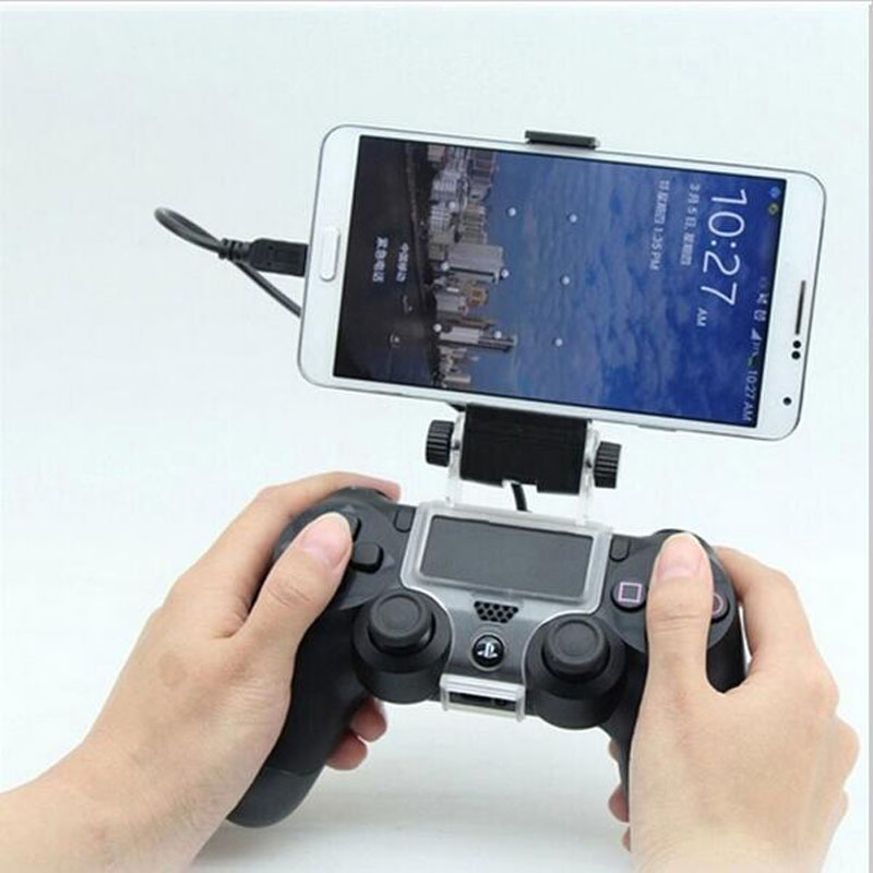 phone-mount-bracket-hand-grip-stand-for-sony-font-b-playstation-b-font-dualshock-4-ps4-controller-samsung-xiaomi-huawei-clip-holder-otg-cable