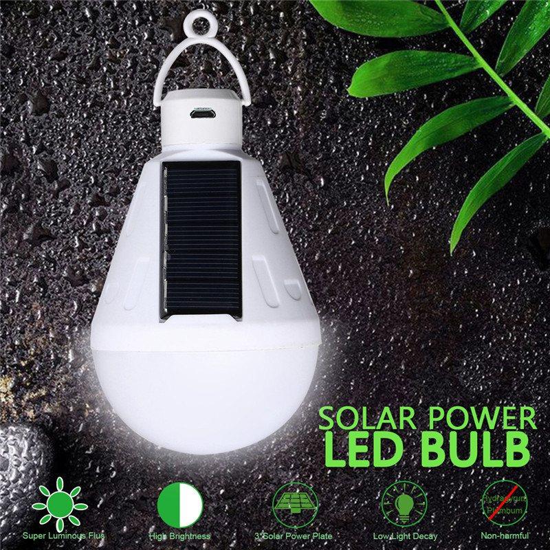 Waterproof Outdoor Light Solar Light 9W DC5V Solar Lamp Portable E27 Led Bulb Light Energy Lamp Led Lighting Solar Panel
