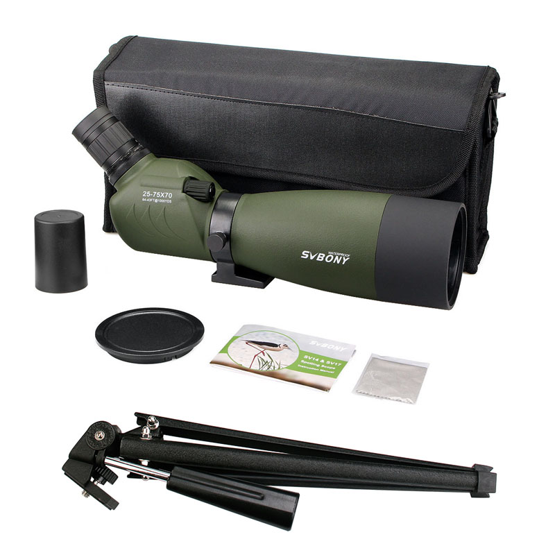 SVBONY Spotting Scope 20-60x60 / 25-75x70mm Zoom telescoop BAK4 - Jacht - Foto 6