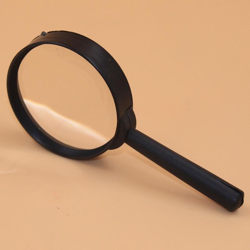 2 cái/bộ 5X Magnifier cho Reading Công Cụ Hand Held Magnifying Glass cho Reading Nhận Dạng Vv Kính Kính Đọc Sách Ống Kính