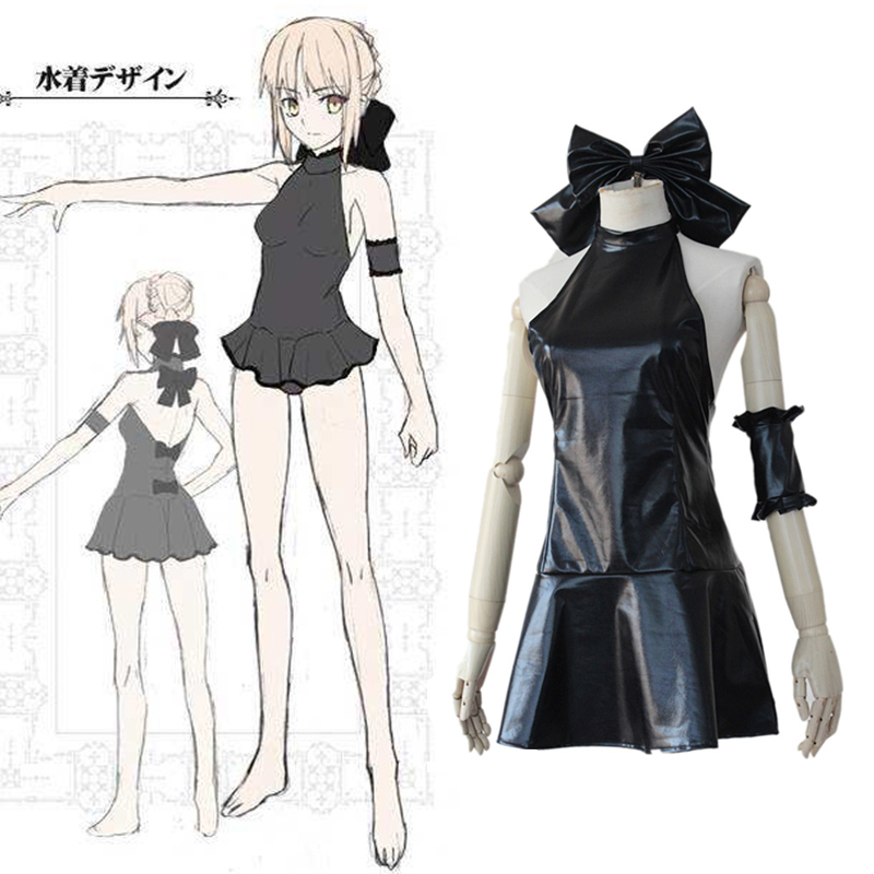 fatestay night anime fate zero saber lily swimwear