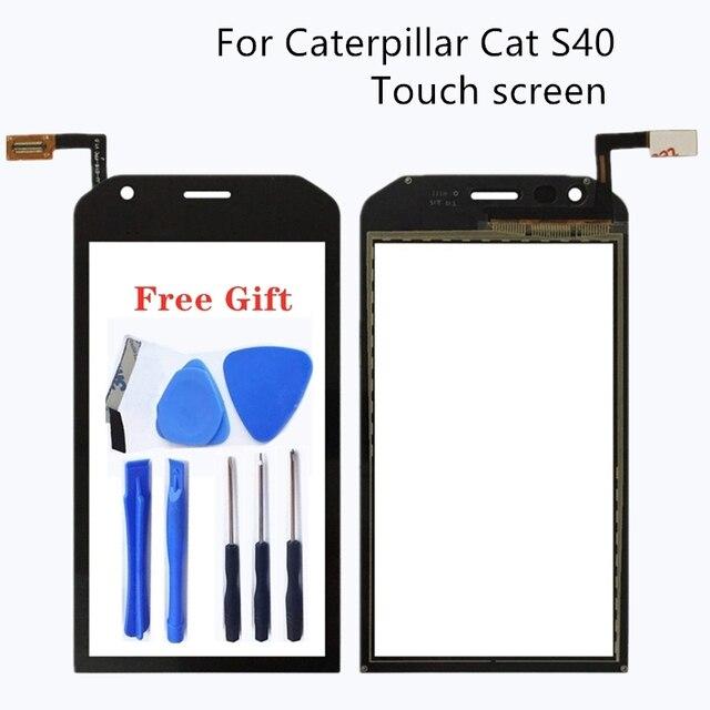 """4,7 """"для гусеницы CAT S40 плоский сенсорный экран Запчасти для ремонта тачскрин Планшет абсолютно новый Бесплатная доставка 100% тест"""