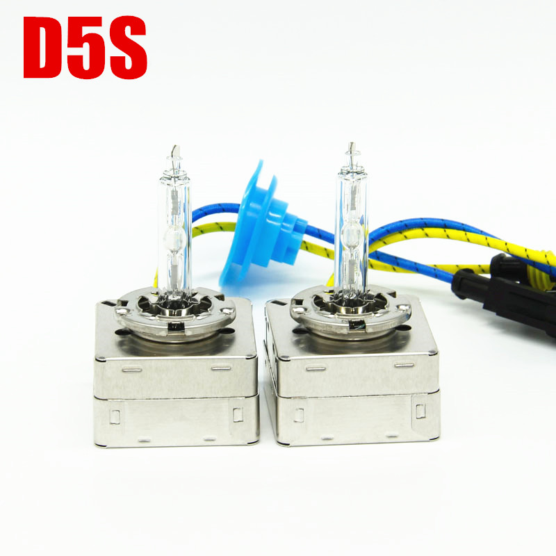 Dianshi 2pcs <font><b>D5S</b></font> 4300K 6000K 8000K HID light <font><b>Xenon</b></font> Headlight OEM Lamp <font><b>D5S</b></font> Bulbs image