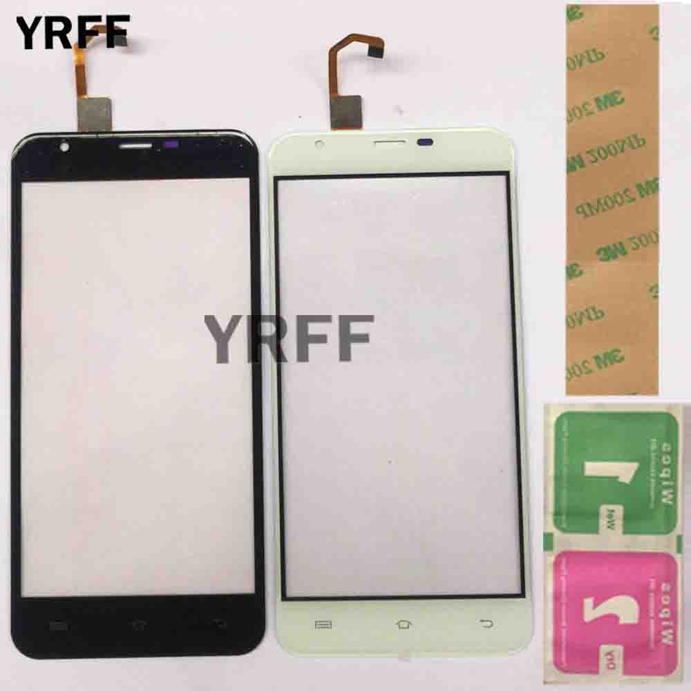 5.5'' Mobile Touch Screen Panel For Oukitel U7 Plus Touch Screen Front Glass Sensor Digitizer Panel 3M Glue Gift