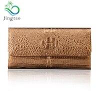jingtao new hot fashion women long wallet belt crocodile pattern design brand fashion design MS card mode multi color Wallet