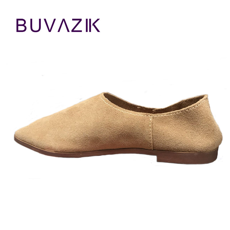 2018 leather shoes women spring summer simple nude color female flats soft sole breathable footwear free shipping 2018 leather shoes women spring summer simple nude color female flats soft sole breathable footwear free shipping