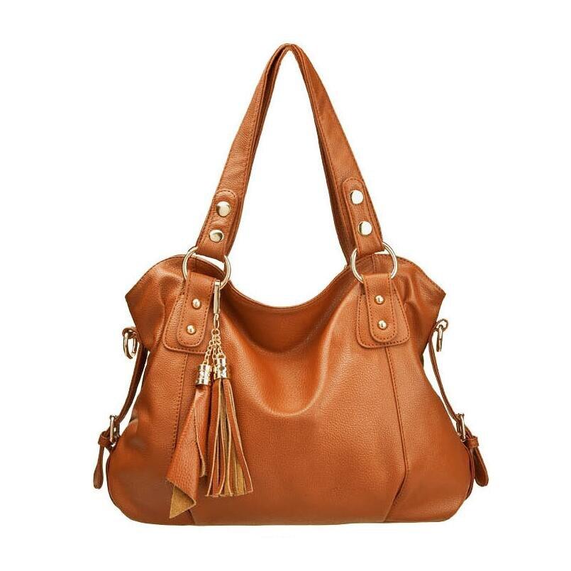 mulheres suaves bolsas de couro Material : High Quality PU Leather