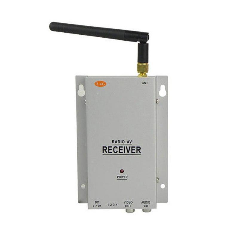 bilder für Neue Mini 2,4 GHZ 4 Kanal Sohle AV Receiver Wireless System Für Überwachung Cctv-kamera