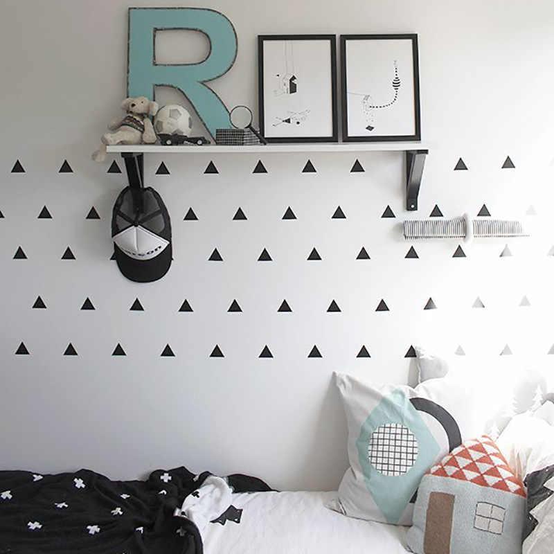Baby Boy Room Triangles Kids Bedroom Wall Decor Baby Girl ...