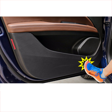 Lsrtw2017 Carbon Fiber PVC Car Anti-kick Door Sticker film for Alfa Romeo Stelvio 2016 2017 2018 2019 2020 Window sticker