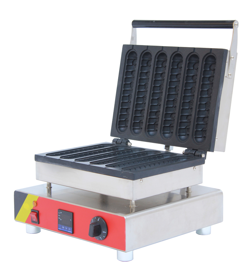 new food machines Digital hot dog waffle maker muffin hot dog machine hot dog waffle maker waffle stick maker with low prices