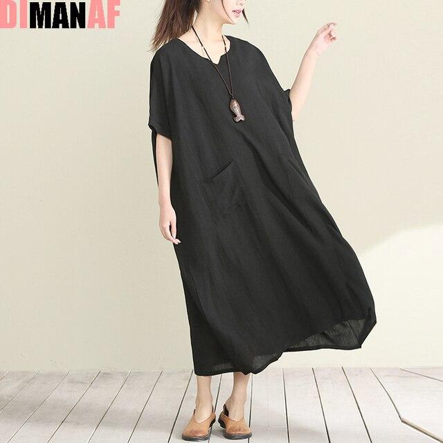Плюс размер женщин dress твердые топы и тройники белье v-образным вырезом старинные женские мода orange длинные большой размер леди новые платья карман черный 2XL