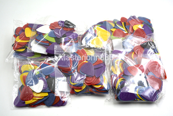 Thousand of Alice Colorful Projecting Nylon Electric/Acoustic Guitar Picks 6 Thickness Assorted Wholesales Free Shippng