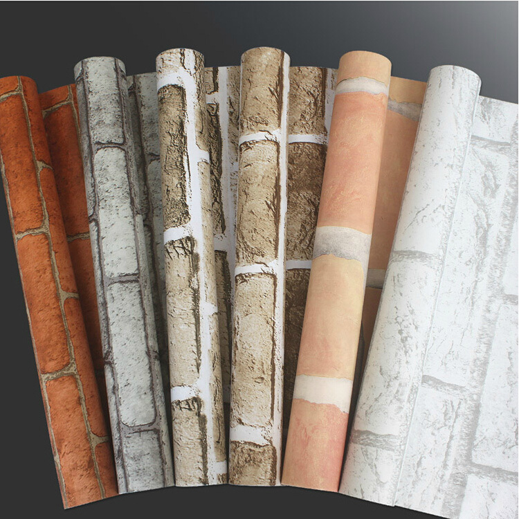 various kinds of stone and brick designs self-adhesive wallpapers for papel de parede 4.5Mm2 from 5rolls present wall sticker sadat khattab usama abdul raouf and tsutomu kodaki bio ethanol for future from woody biomass