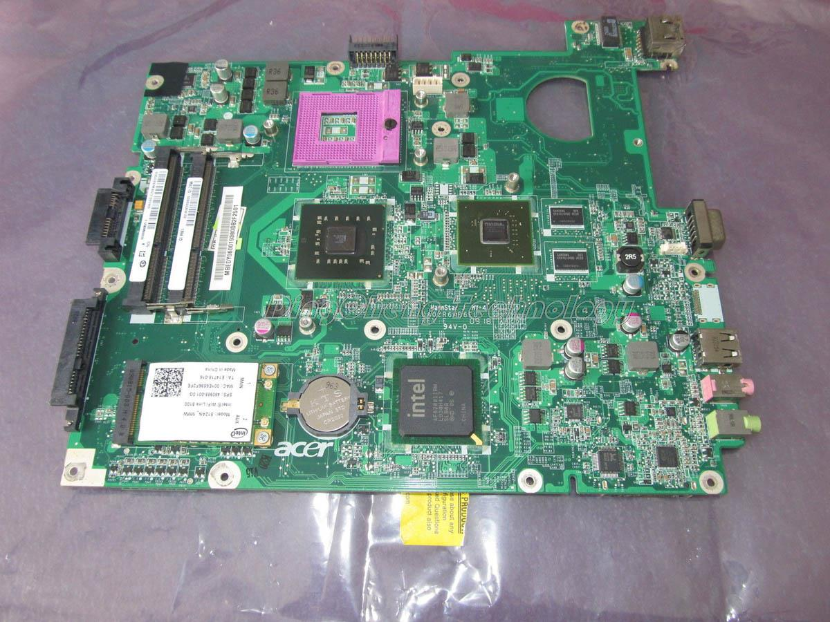 SHELI laptop Motherboard For Acer 5635G 5235 MB.EDY06.001 MBEDY06001 DA0ZR6MB6E0 DDR3 non-nintegrated graphic card fully test